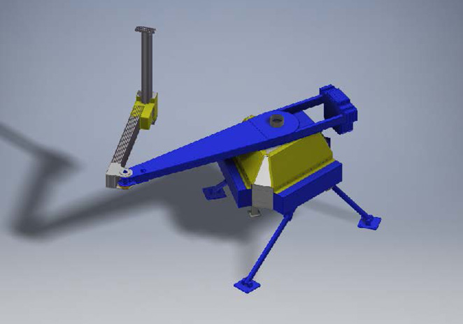 Robot Rendering Side View